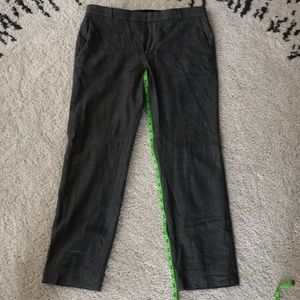 BR wool trousers